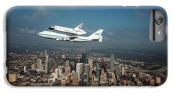Space Shuttle Endeavour Piggyback Flight IPhone 6 Plus Case by Nasa/sheri Locke