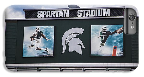 Spartan Stadium Scoreboard  IPhone 6 Plus Case by John McGraw
