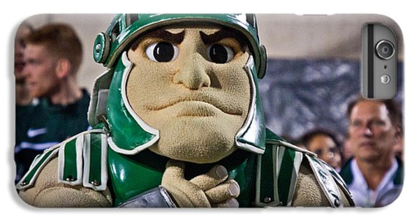 Sparty And Izzo National Anthem  IPhone 6 Plus Case by John McGraw
