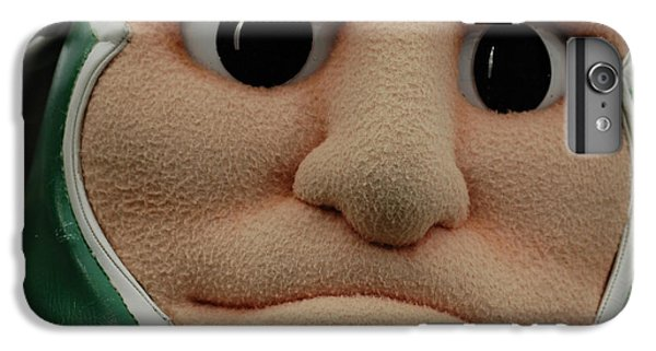 Sparty Face  IPhone 6 Plus Case by John McGraw