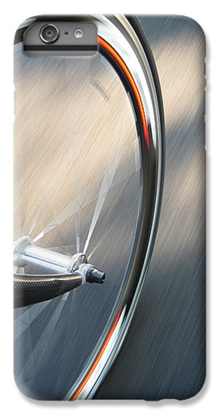 Bicycle iPhone 6 Plus Case - Spin by Jeff Klingler