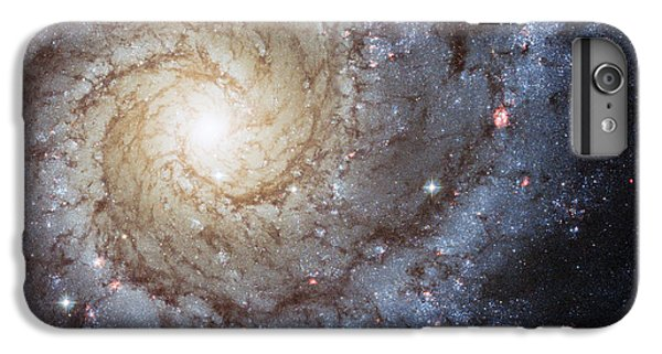Spiral Galaxy M74 IPhone 6 Plus Case