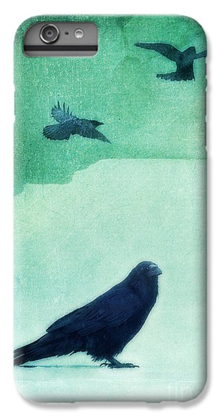 Spirit Bird IPhone 6 Plus Case by Priska Wettstein
