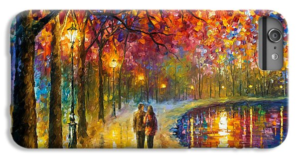Afremov iPhone 6 Plus Case - Spirits By The Lake - Palette Knife Oil Painting On Canvas By Leonid Afremov by Leonid Afremov