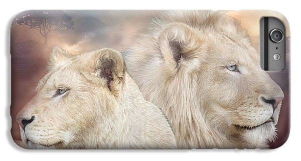 Lion iPhone 6 Plus Case - Spirits Of Light by Carol Cavalaris