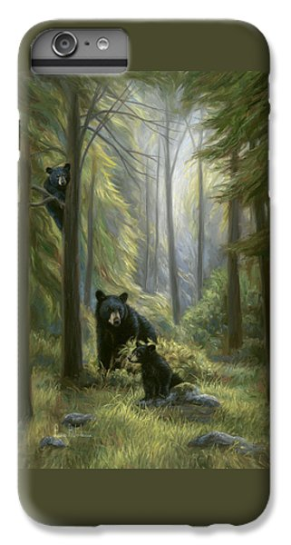 Bear iPhone 6 Plus Case - Spirits Of The Forest by Lucie Bilodeau
