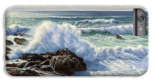 Pacific Ocean iPhone 6 Plus Case - Splash Seascape by Paul Krapf