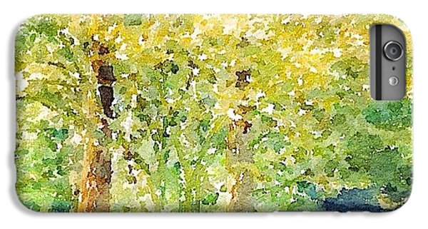 Sunny iPhone 6 Plus Case - Spring Maples by Anna Porter