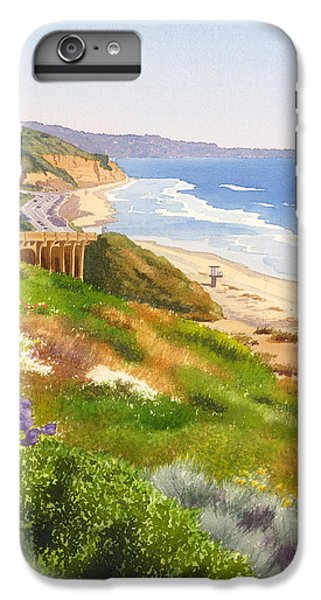 Pacific Ocean iPhone 6 Plus Case - Spring View Of Torrey Pines by Mary Helmreich