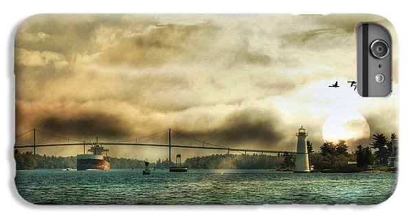 Geese iPhone 6 Plus Case - St. Lawrence Seaway by Lori Deiter