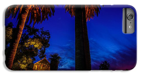 Stanford University Memorial Church At Sunset IPhone 6 Plus Case by Scott McGuire