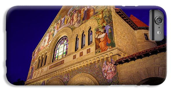 Stanford University Memorial Church IPhone 6 Plus Case by Scott McGuire