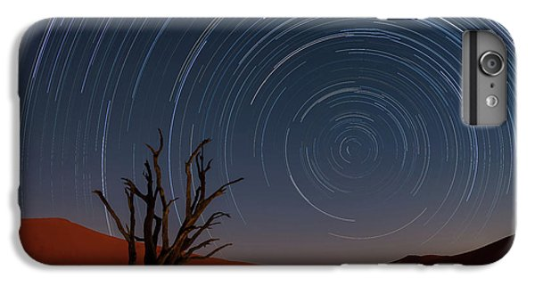 Africa iPhone 6 Plus Case - Star Trails Of Namibia by Karen Deakin