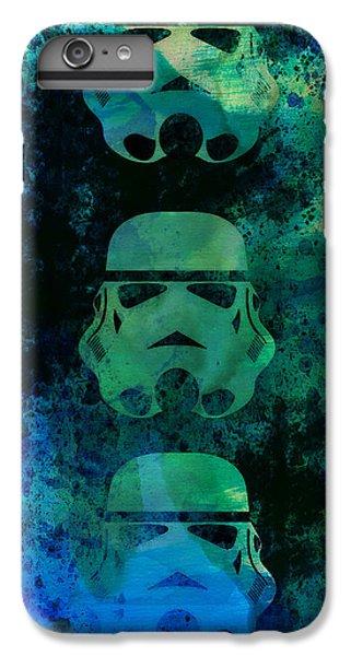 Han Solo iPhone 6 Plus Case - Star Warriors Watercolor 1 by Naxart Studio