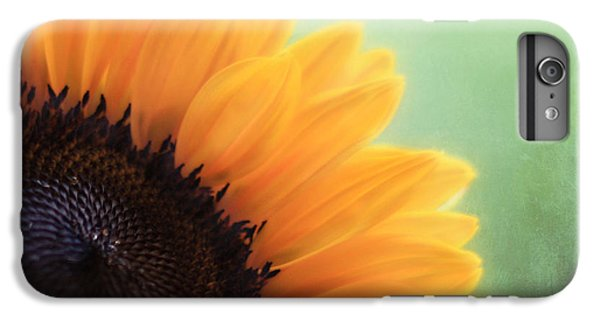 Sunflower iPhone 6 Plus Case - Staring Into The Sun by Amy Tyler