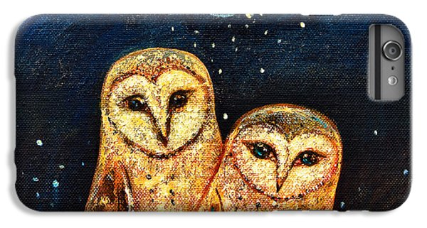 Starlight Owls IPhone 6 Plus Case by Shijun Munns