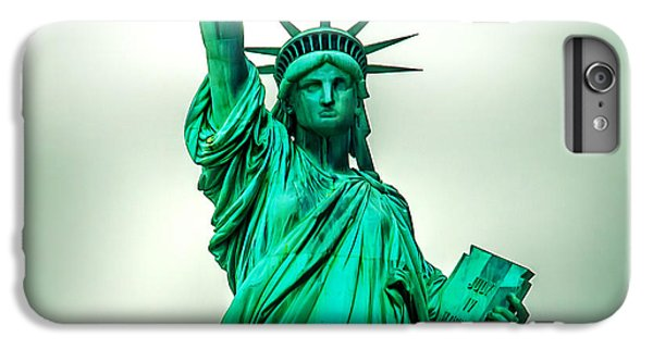 Statue Of Liberty iPhone 6 Plus Case - Statue Of Liberty by Az Jackson