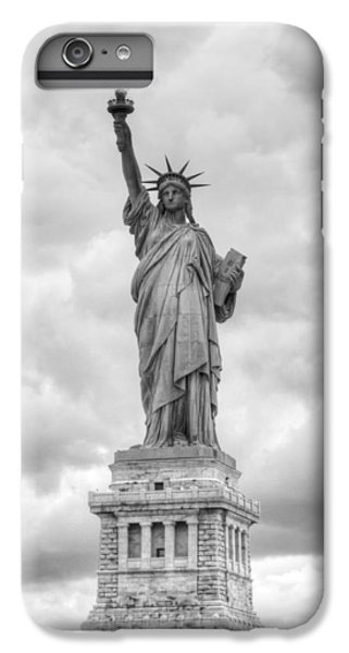 IPhone 6 Plus Case featuring the photograph Statue Of Liberty Full by Dave Beckerman