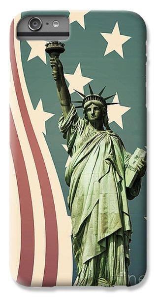 Statue Of Liberty IPhone 6 Plus Case by Juli Scalzi