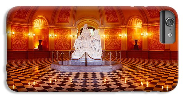 Statue Surrounded By A Railing IPhone 6 Plus Case by Panoramic Images