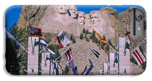 Statues On A Mountain, Mt Rushmore, Mt IPhone 6 Plus Case by Panoramic Images