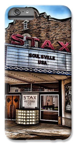 Stax Records IPhone 6 Plus Case
