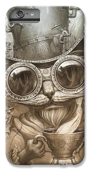Steampunk Cat IPhone 6 Plus Case