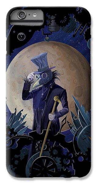 Raven iPhone 6 Plus Case - Steampunk Crownman by Sassan Filsoof