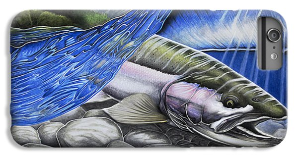 Salmon iPhone 6 Plus Case - Steelhead Dreams by Nick Laferriere