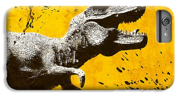 Stencil Trex IPhone 6 Plus Case by Pixel Chimp