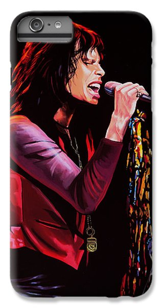 Steven Tyler IPhone 6 Plus Case by Paul Meijering