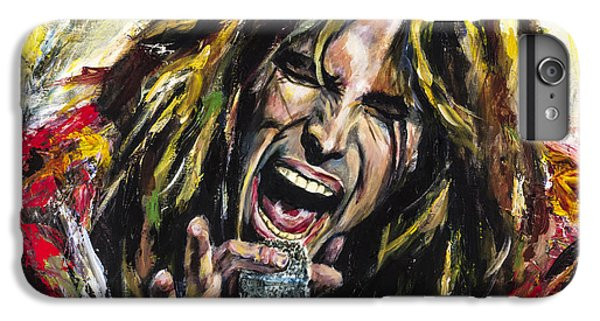 Musician iPhone 6 Plus Case - Steven Tyler by Mark Courage