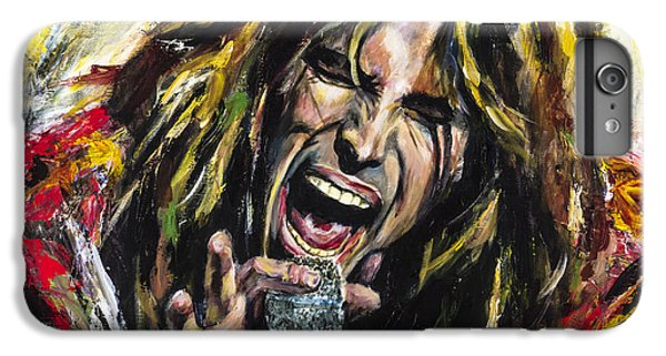 Steven Tyler IPhone 6 Plus Case by Mark Courage