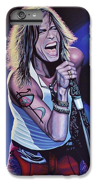 Musicians iPhone 6 Plus Case - Steven Tyler 3 by Paul Meijering
