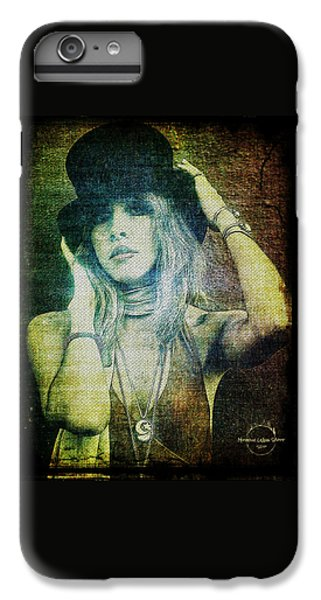Rock And Roll iPhone 6 Plus Case - Stevie Nicks - Bohemian by Absinthe Art By Michelle LeAnn Scott