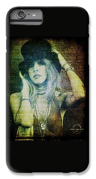Rock And Roll iPhone 6 Plus Case - Stevie Nicks - Bohemian by Absinthe Art By Michelle LeAnn Scott