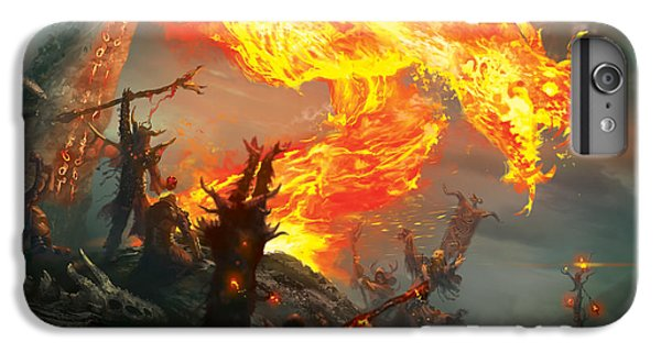 Wizard iPhone 6 Plus Case - Stoke The Flames by Ryan Barger