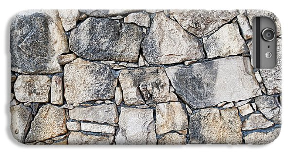 Stone Wall Texture IPhone 6 Plus Case by Antony McAulay
