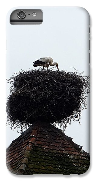 IPhone 6 Plus Case featuring the photograph Stork by Marc Philippe Joly
