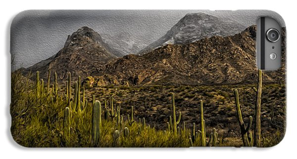 Storm Over Catalinas Aso IPhone 6 Plus Case by Mark Myhaver