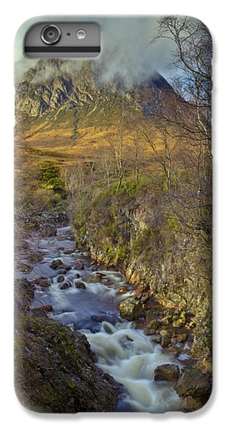 Stream Below Buachaille Etive Mor IPhone 6 Plus Case by Gary Eason