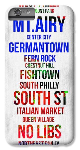 Philadelphia iPhone 6 Plus Case - Streets Of Philadelphia 1 by Naxart Studio
