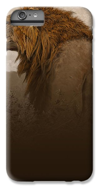Lion iPhone 6 Plus Case - Strength by Aaron Blaise