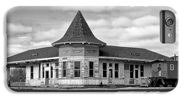 IPhone 6 Plus Case featuring the photograph Sturtevant Old Hiawatha Depot In Hdr by Ricky L Jones