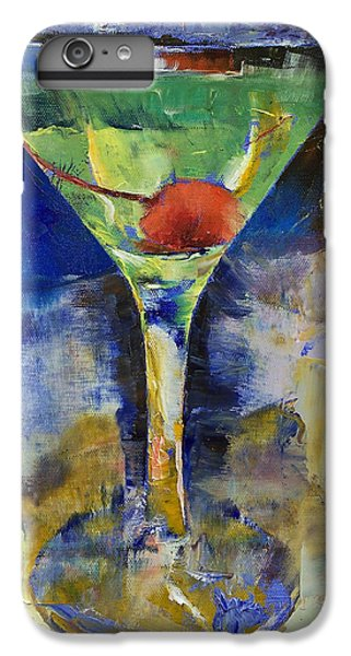 Summer Breeze Martini IPhone 6 Plus Case by Michael Creese