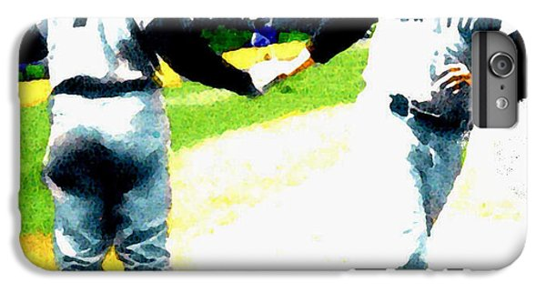 Summer Of The Gods  Iv 1961 Mickey Mantle IPhone 6 Plus Case by Iconic Images Art Gallery David Pucciarelli