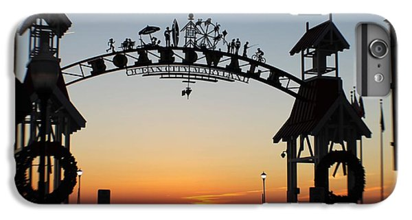 Sun Reflecting On Clouds Ocean City Boardwalk Arch IPhone 6 Plus Case