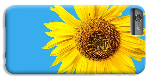 Sunflower Blue Sky IPhone 6 Plus Case by Edward Fielding