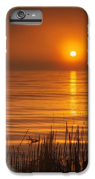 Lake Michigan iPhone 6 Plus Case - Sunrise Through The Fog by Scott Norris