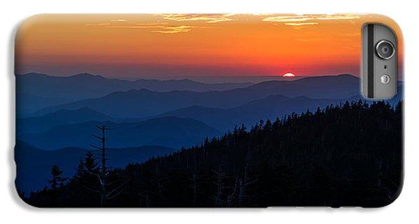 Sun's Last Peak Over The Blue Ridge IPhone 6 Plus Case